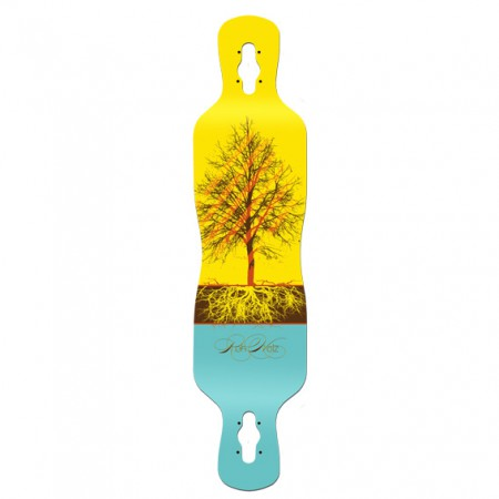 Tree Longboard - ROHHOLZ