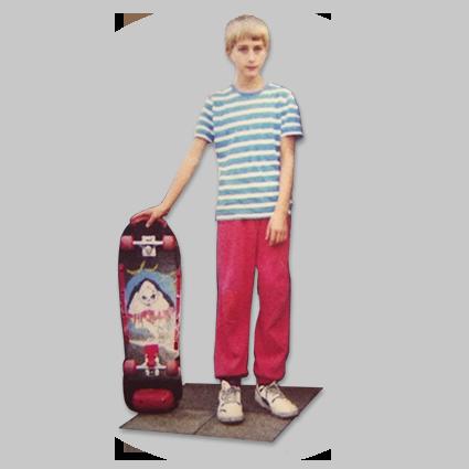 Rohholz Skater 1991 - ROHHOLZ boardsport & lifestyle brand.