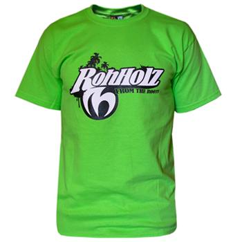 Team T-shirt (green) - ROHHOLZ