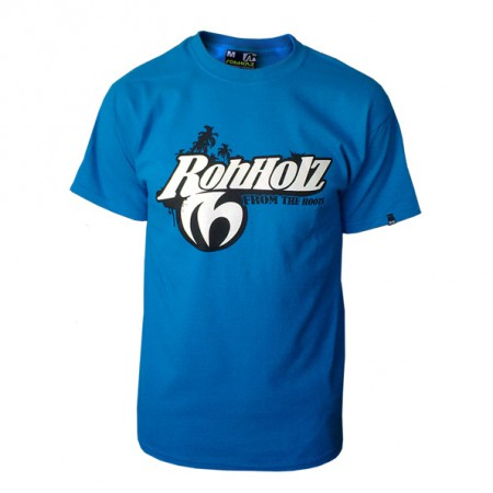 Team T-shirt (blue) - ROHHOLZ