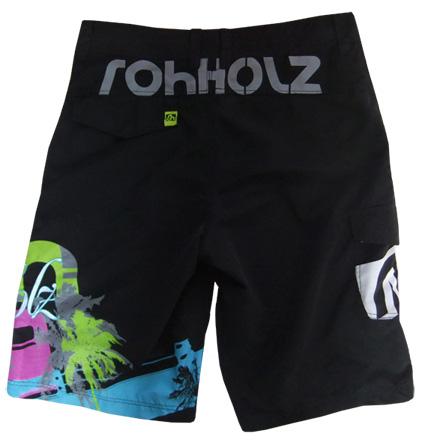 Rohholz Boardshort backside