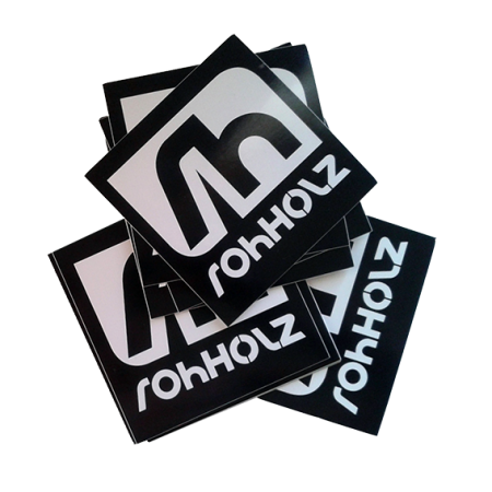 Rohholz Icon Sticker