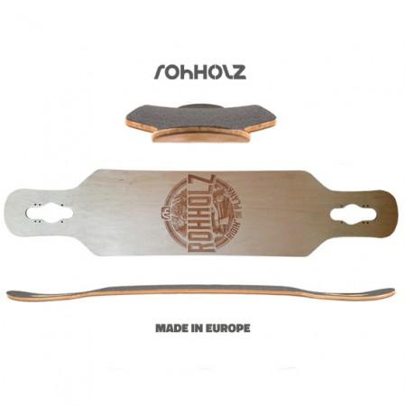 Plank Longboard Deck - ROHHOLZ