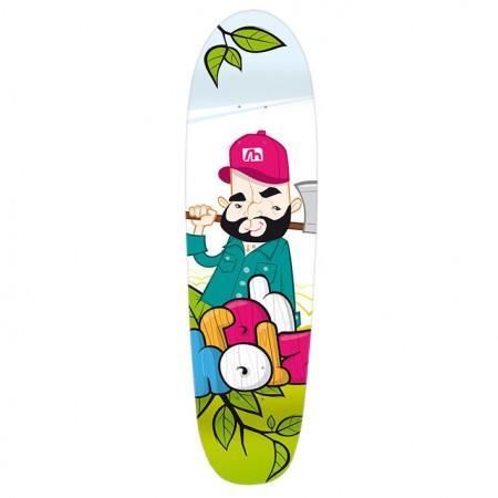 Johnny Cruiser Deck - ROHHOLZ skateboards & longboards