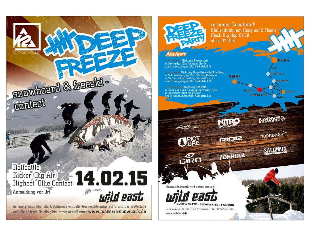 Rohholz supports Deep Freeze Snowboard & Freeski Contest