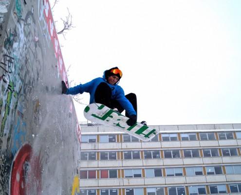 Matteo Rueger - ROHHOLZ Team Snow