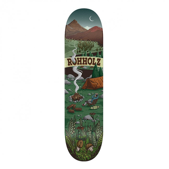 Enjoy Nature Skateboard - ROHHOLZ