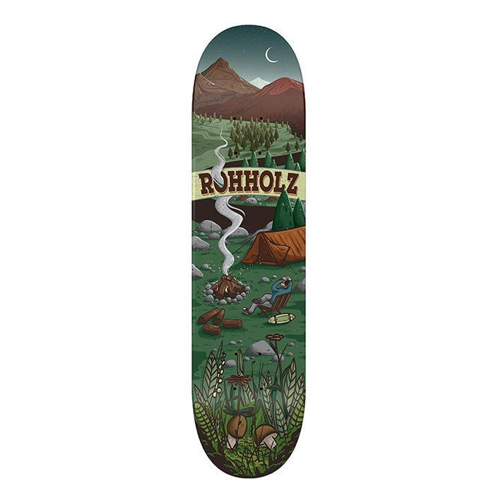 Enjoy Nature Skateboard - ROHHOLZ