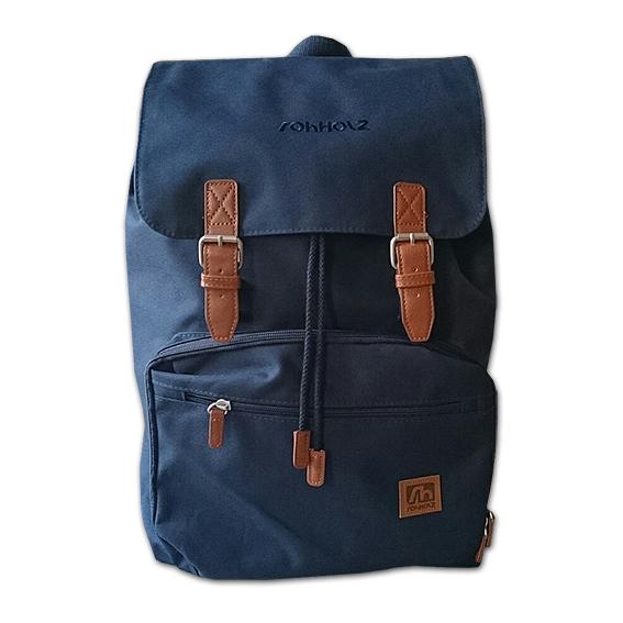 Daypack Rucksack Navy - ROHHOLZ Rucksäcke & Taschen