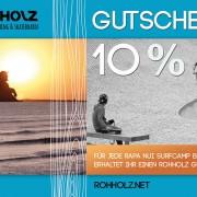 Rapa Nui Surfcamp Fuerteventura - ROHHOLZ Gutschein