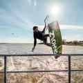 Rohholz Evolution Kiteboard - Steven Stroeming, Dranske