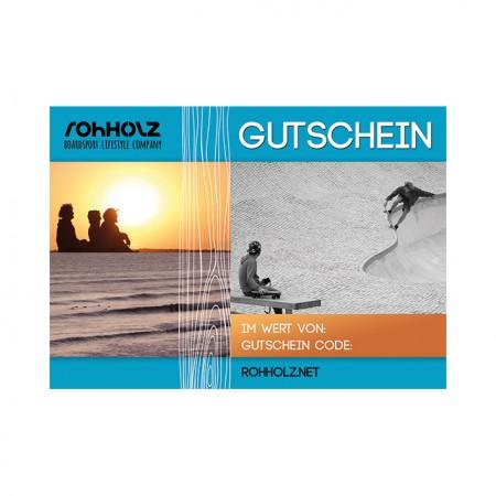 Gutschein - ROHHOLZ boardsport & lifestyle brand