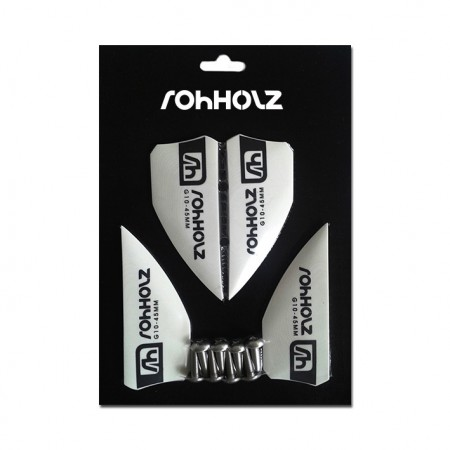 Rohholz Kiteboard Fins 45mm