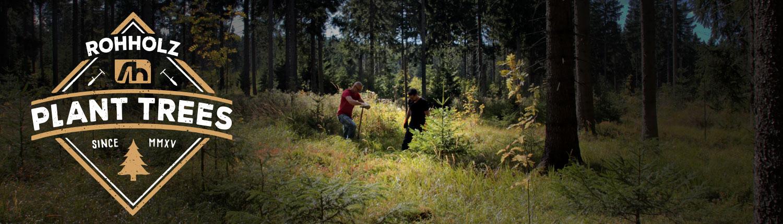 Rohholz Brandstory - Plant Trees
