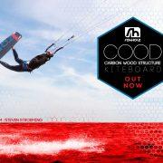 COOD Kiteboard - Rohholz