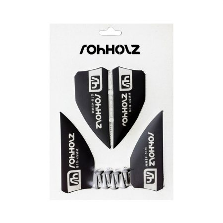 Kiteboard Fins 45mm black - Rohholz Finnen