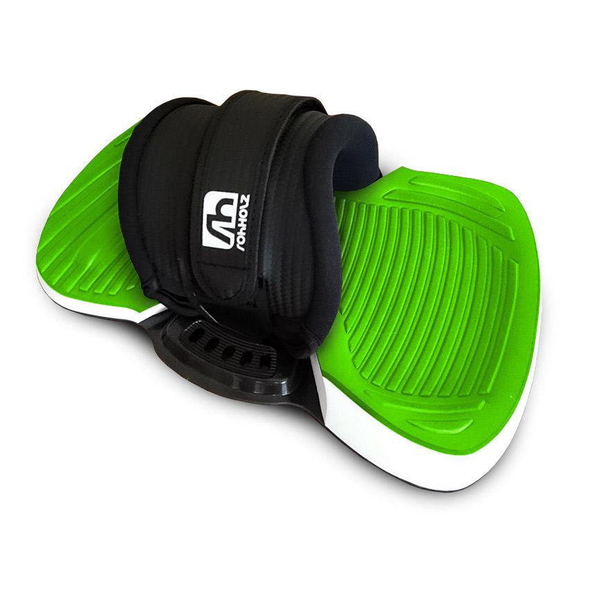 Unit Green Kiteboard Bindung - Rohholz Kiteboards