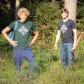 Plant Trees T-Shirt - Rohholz Baumpflanzaktion