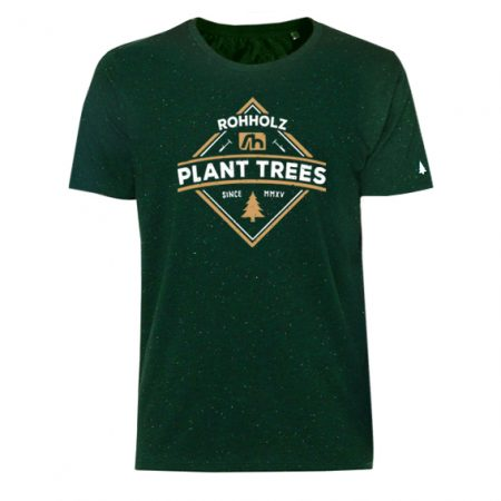 Plant Trees T-Shirt green - Rohholz