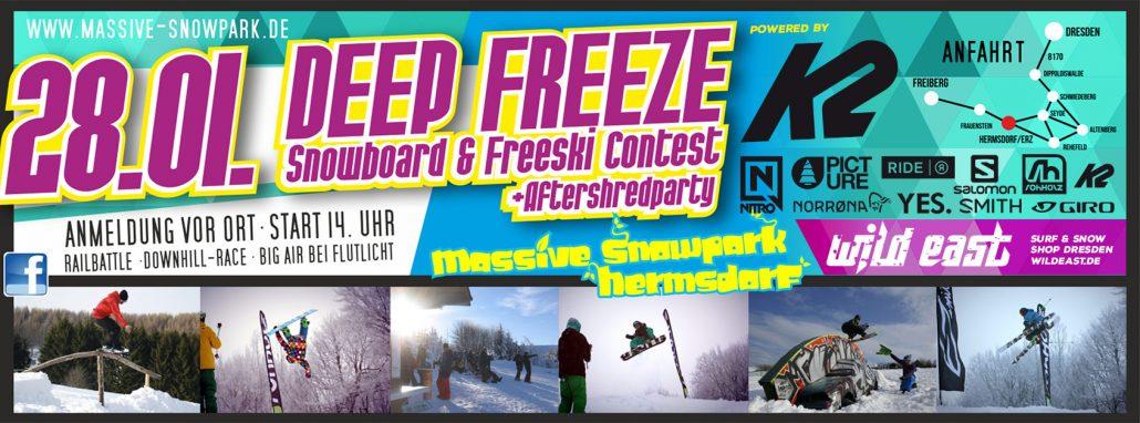 Rohholz supports Snowboard & Freeski Contest