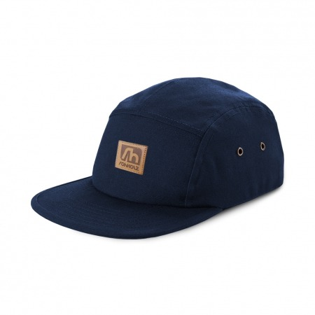 Rohholz Patch Snapback Cap Navy