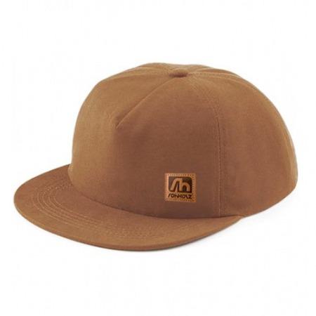 Rohholz Snapback Cap Brown