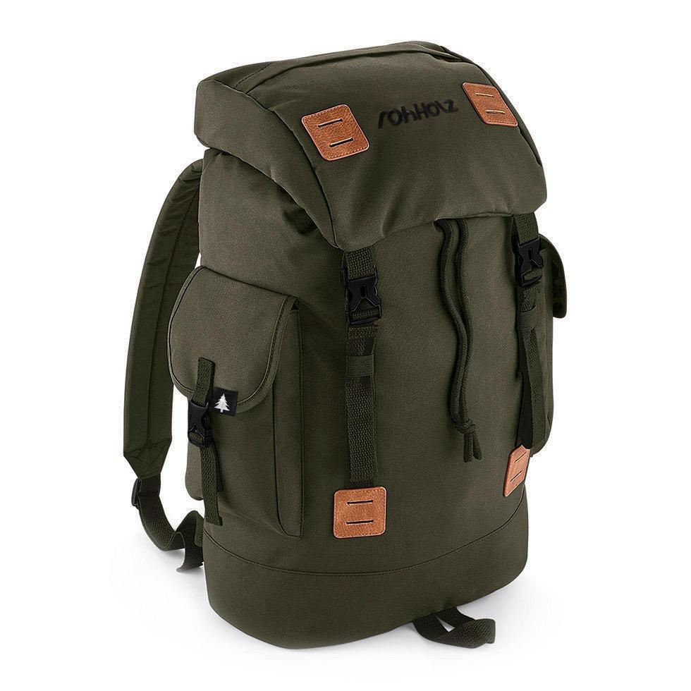 Explorer Olive Rucksack - Rohholz Rucksäcke und Taschen