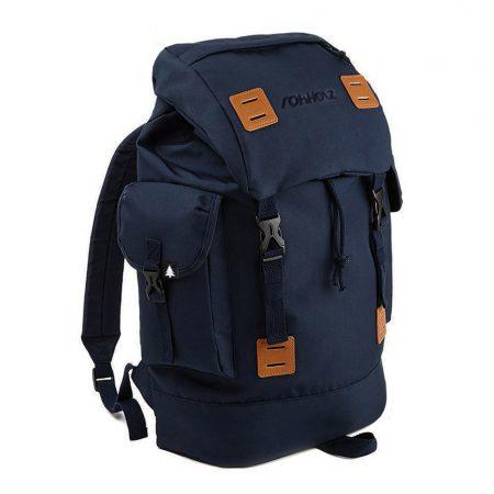 Explorer Navy Rucksack - Rohholz Rucksäcke und Taschen