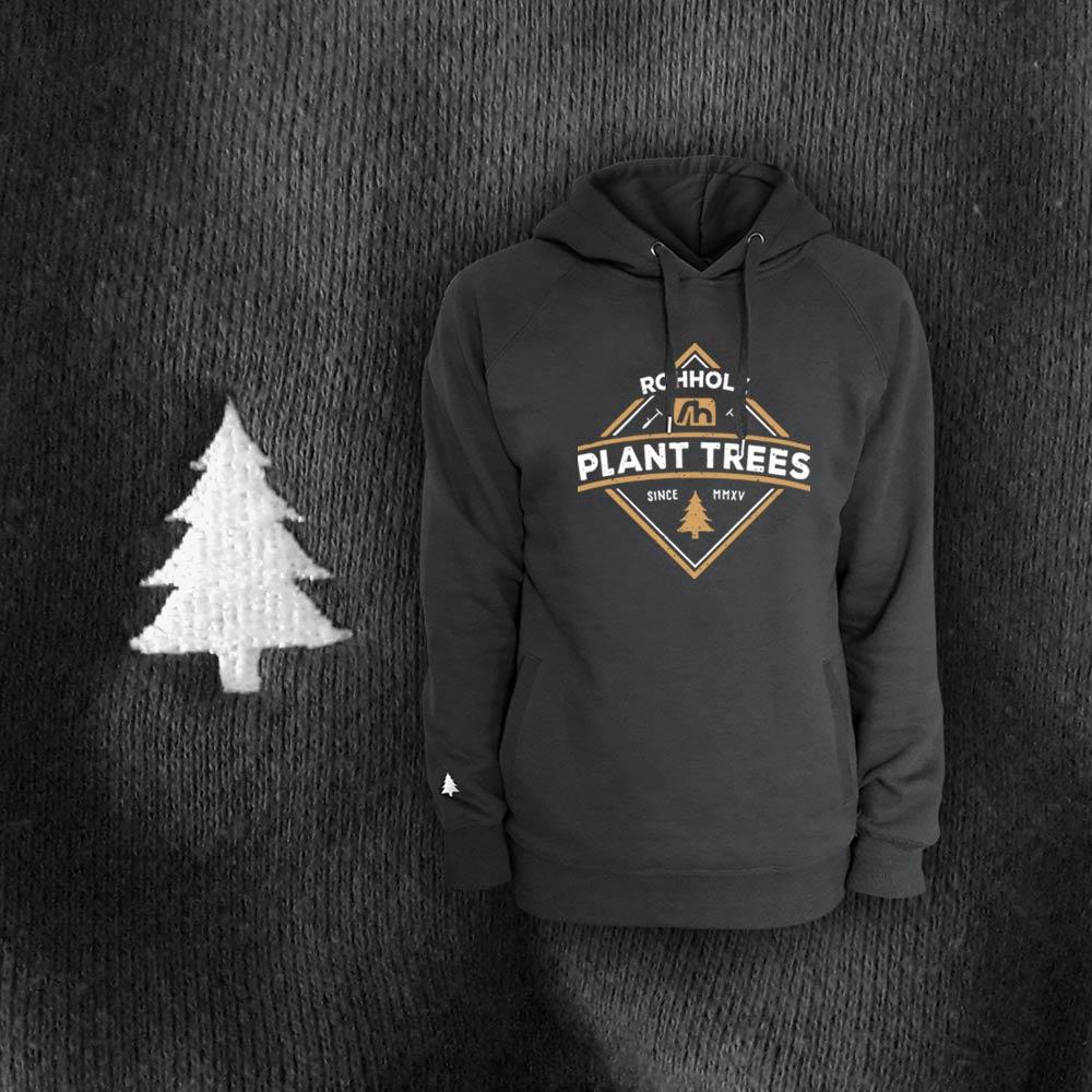 Plant Trees Hoodie - Rohholz Sweater & Hoodies