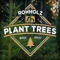 Forest Logo - Rohholz Plant Trees Hoodie