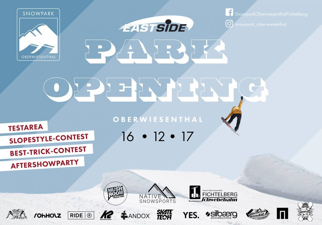 Snowpark Opening Oberwiesenthal