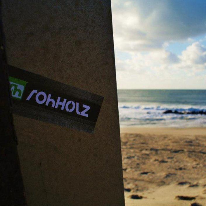 dansk surfing sticker - Rohholz