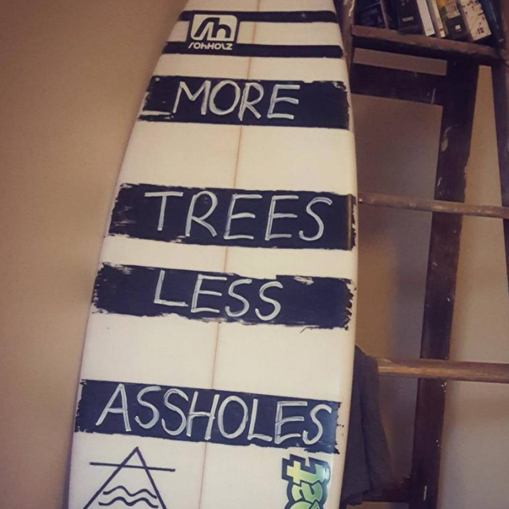 more trees sticker - Rohholz surfing
