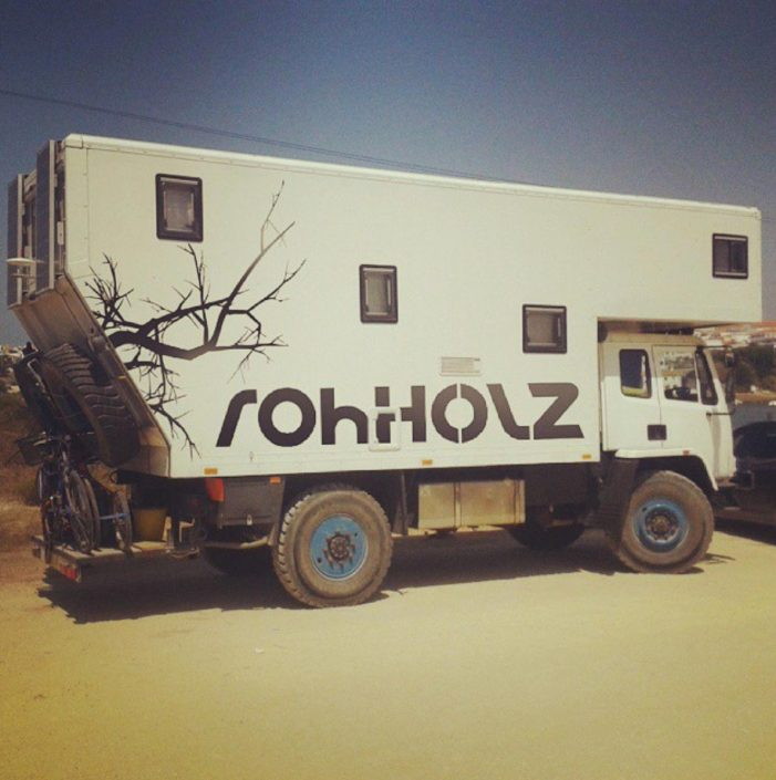porto camper sticker - Rohholz travel & adventure