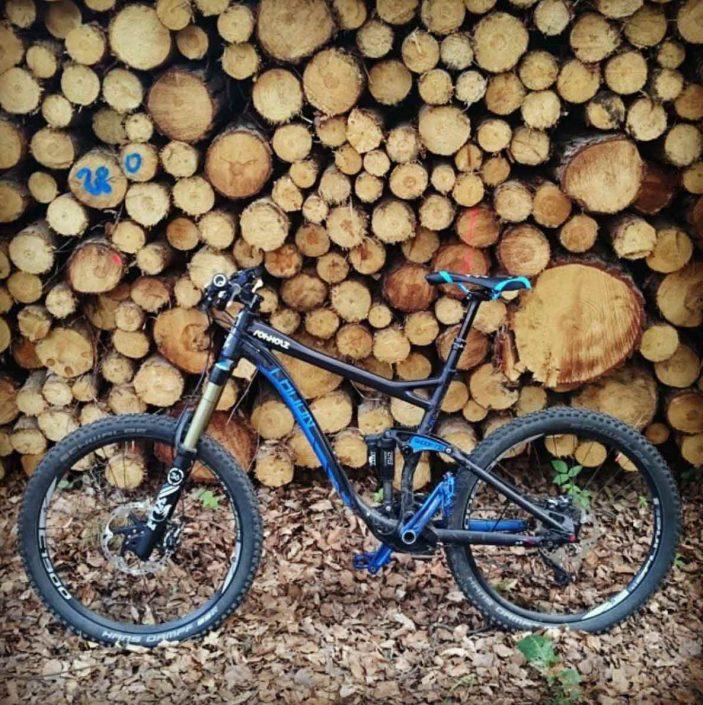radon swoop sticker - Rohholz enduro bike