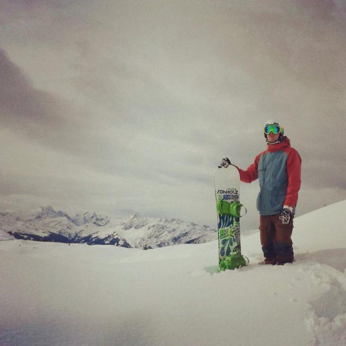 ride machete sticker - Rohholz snowboarding