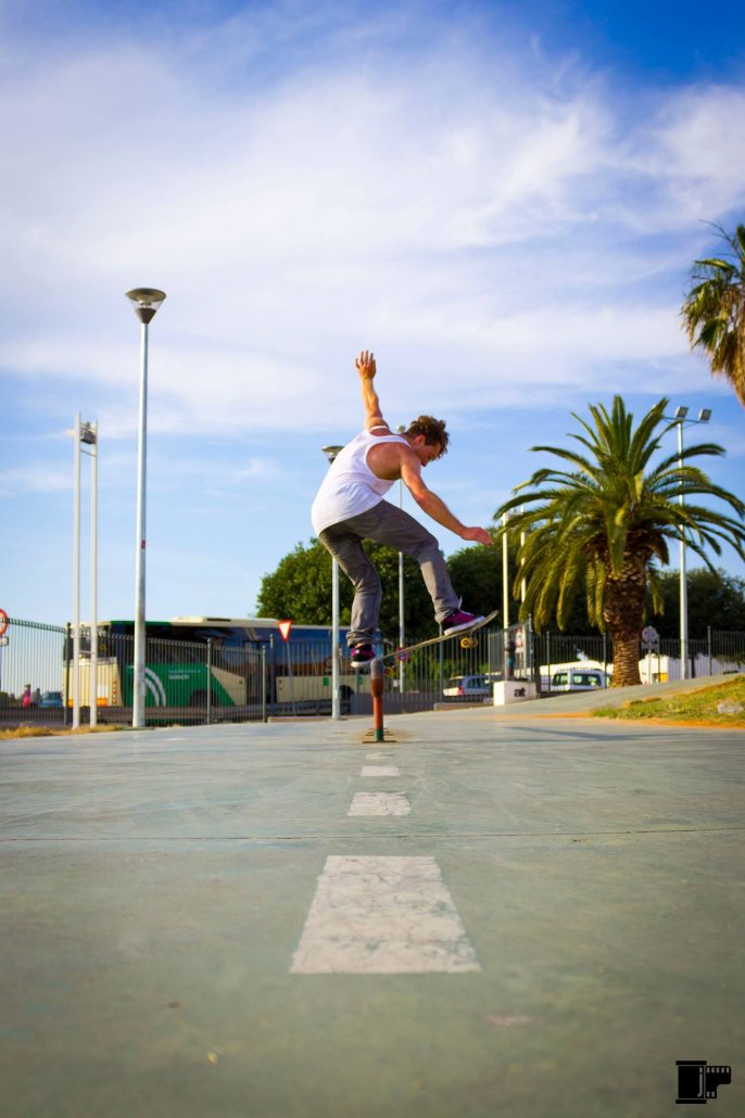 Skate the Palms - Marcel Güther