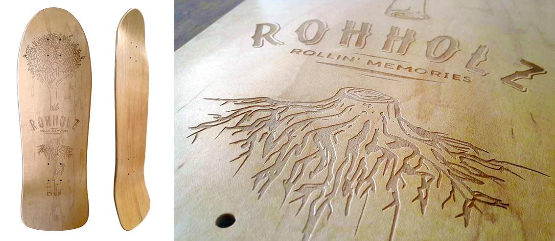 Rohholz Rollin Memories Skateboard