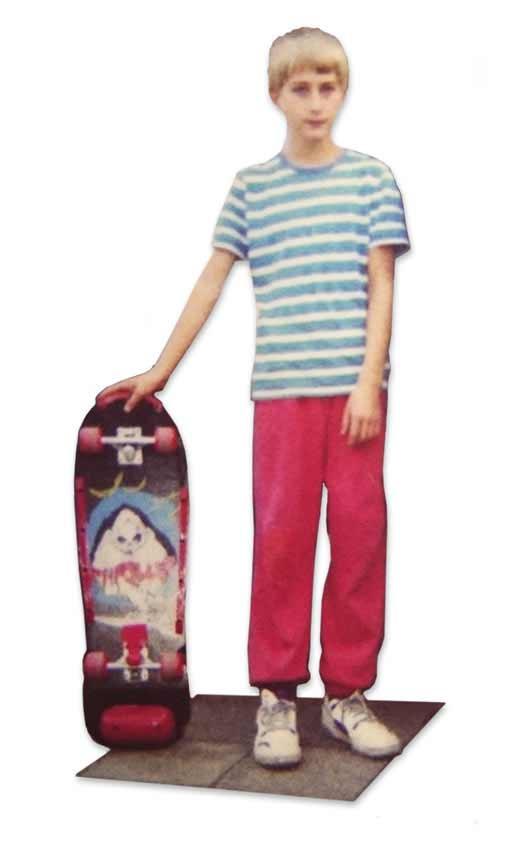 Skateboarding 1991 - Rohholz Finne