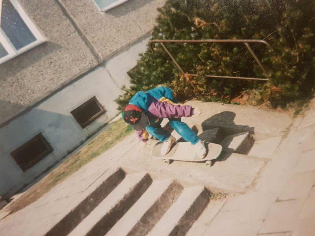 Skateboard Geschichten - Rohholz Rollin' Memories