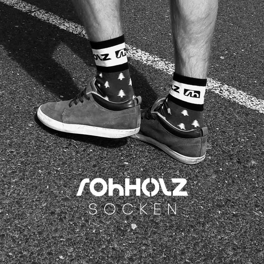 Rohholz Socken - Tree Socks