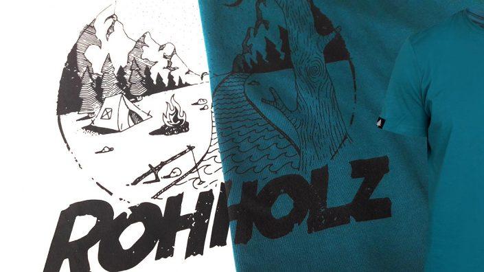 Rohholz Camp T-Shirts