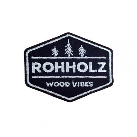 Rohholz Wood Vibes Patch - Aufnäher