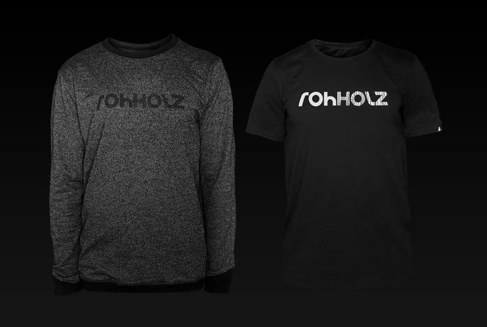 Rohholz Logo Wear - Sweatshirt & T-Shirt