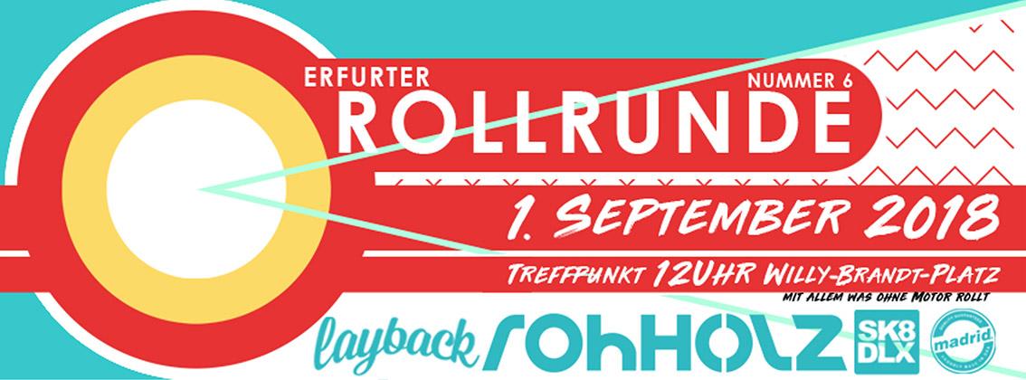 Erfurter Rollrunde 2018 - Rohholz