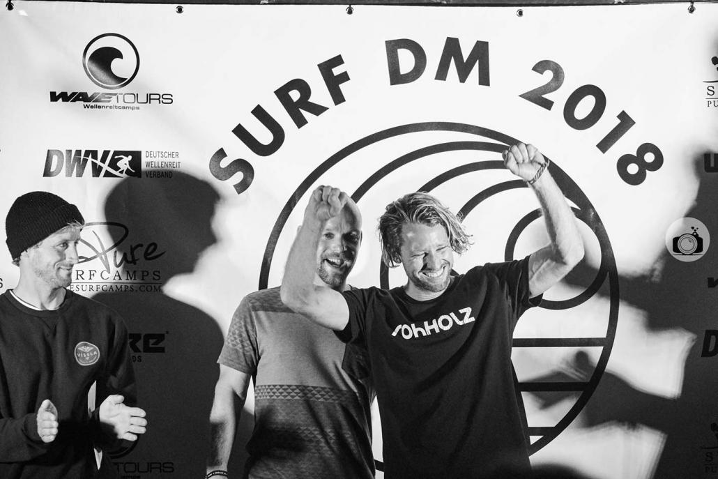 Marcel Guether wins Surf DM 2018