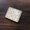 Rohholz Rock wood pins - Holz Anstecker