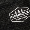 Rohholz Patch am Wood Vibes Hoodie