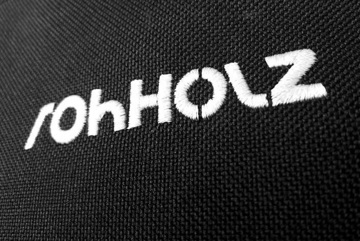 Rohholz Logo - Skatepack