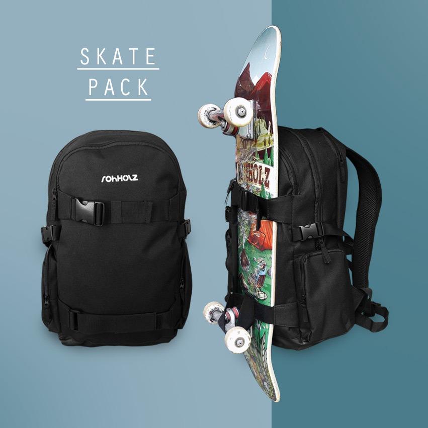 Boardcatcher graphic - Rohholz Skatepack Rucksack